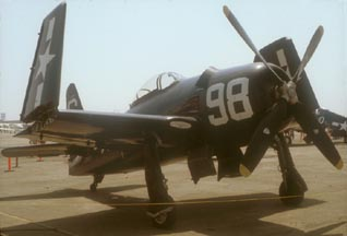 Grumman F8F-2 Bearcat, N198F, Chino Airport, September 2, 1978