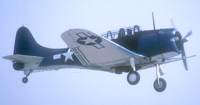 Douglas SBD-5 Dauntless NX670AM