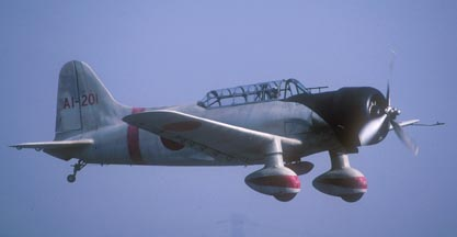 Aichi D3A Val replica (modified Consolidated-Vultee BT-15)