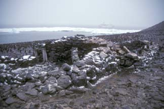 1903 Nordenskjold Expedition hut on Paulet Island