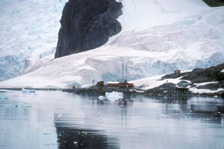 Waterboat Point Argentine Antarctic Research Station