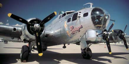 B-17G, N9323Z Sentimental Journey at Santa Barbara on May 22, 2001