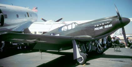 North American P-51A Mustang, N51Z