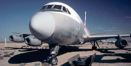 Convair Cv-880, N815AJ at the Mojave Airport on September 10, 2001