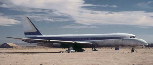 Convair Cv-880, N812AJ at the Mojave Airport on September 10, 2001