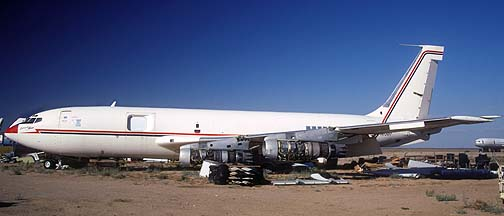 720-060B Hughes Airborne Infrared Measurement System Embraceable Annie N7381, Mojave Airport, September 10, 2001