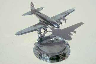 TWA Boeing 307 ashtray manufactured by Pastushin in the 1940s