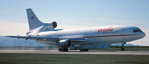 Orbital  Sciences Corporation L-1011, Stargazer, departs from Vandenberg AFB with the High Energy Solar Spectroscopic Imager (HESSI) spacecraft, February 1, 2002