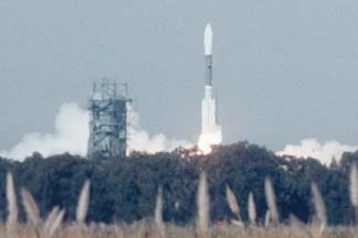 Delta-II launches Iridium satellites from Vandenberg AFB on February 11, 2002