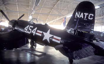 F2G-1 BuNo 88454 N4324, Champlin Fighter Museum, March 2, 2002