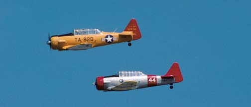 North American AT-6 Texan 90920, and 