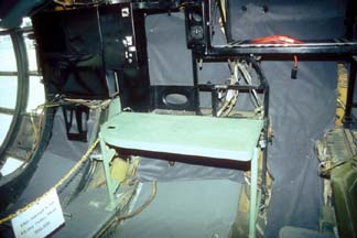 Weather observer's station of RB-36H, 51-13730