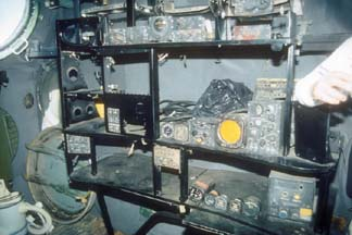 Radio operator's station of RB-36H, 51-13730
