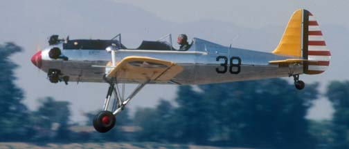 Ryan ST3KR, N58651 was designated PT-22 in Army Air Corps service