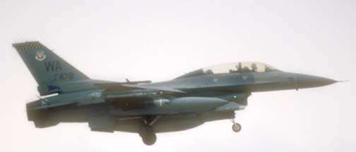 Lockheed-Martin F-16D block 52D Fighting Falcon, 91-478 of the 57 WG based at Nellis AFB