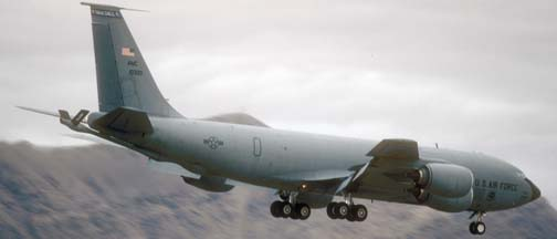 Boeing KC-135R Stratotanker, 61-0030 of the 43 ARG based at MacDill AFB