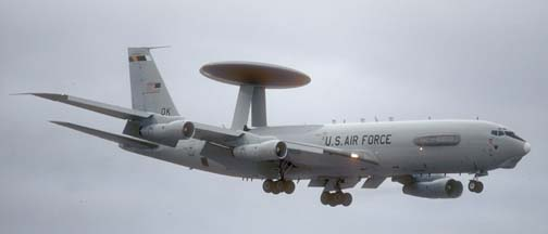 Boeing E-3B Sentry, 77-0352 of the 552 ACW based at Tinker AFB
