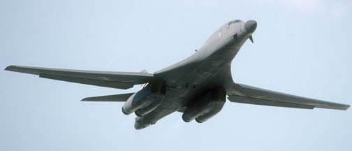 Boeing-Rockwell B-1B Lancer, 85-091 of the 37 BS of the 28BW based at Ellsworth AFB