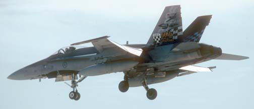 Boeing-McDonnell-Douglas CF-188A Hornet, 199740 of the Canadian Forces