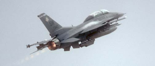 Lockheed-Martin F-16D Block 50A Fighting Falcon, 90-840 of the 55 FS of the 20 FW based at Shaw AFB