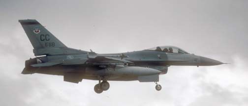Lockheed-Martin F-16C Block 52 Fighting Falcon, 97-118 of the 428 FS of the 27FW based at Canon AFB