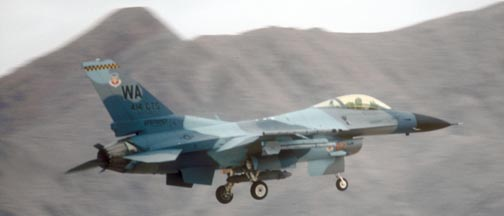 Lockheed-Martin F-16C Block 32F Fighting Falcon, 87-267 of the 414 CTS of the 57 WG based at Nellis AFB