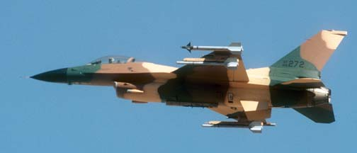 Lockheed-Martin F-16C Block 32F Fighting Falcon, 87-272 of the 57 WG based at Nellis AFB