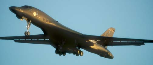 Boeing-Rockwell B-1B Lancer, 86-125 of the 28BW based at Ellsworth AFB