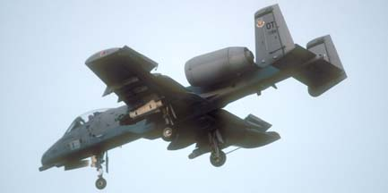 Fairchild-Republic A-10A Warthog, 79-199 of the 53 TEG based at Nellis AFB