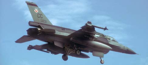 Lockheed-Martin F-16DJ Block 52 Fighting Falcon, 96-5031 of the 428 FS of the 27FW based at Canon AFB