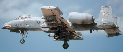 Fairchild-Republic A-10A Warthog, 78-596