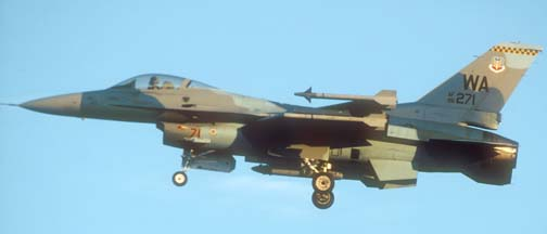 Nellis based aircraft