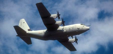 Lockheed-Martin C-130J Hercules, 46-46 of the AMI