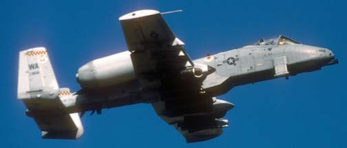 Fairchild-Republic A-10A Warthog, 81-958 of the 57 WG based at Nellis AFB