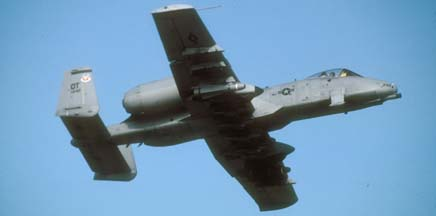 Fairchild-Republic A-10A Warthog, 80-242 of the 53 TEG based at Nellis AFB