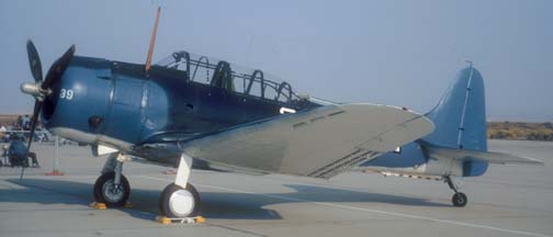 Douglas SBD-5 Dauntless, NX670AM of the Planes of Fame Museum