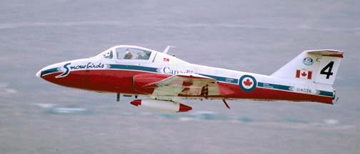 Canadair CT-114 Tutor, 114076, Canadian Snowbirds #4