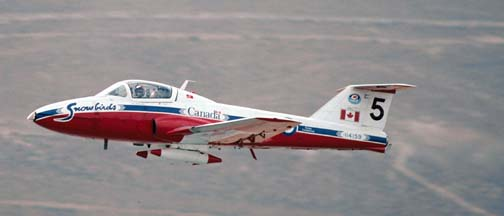 Canadair CT-114 Tutor, 114159, Canadian Snowbirds #5
