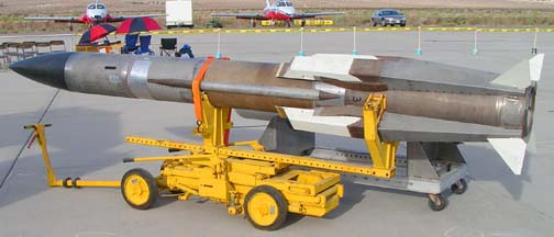 Ramjet powered missile