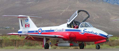 Canadair CT-114 Tutor, 114013, #1 of the Canadian Snowbirds