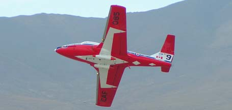Canadair CT-114 Tutor, 114085, #9 of the Canadian Snowbirds