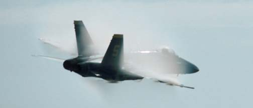 McDonnell-Douglas F/A-18 #5 of the Blue Angels