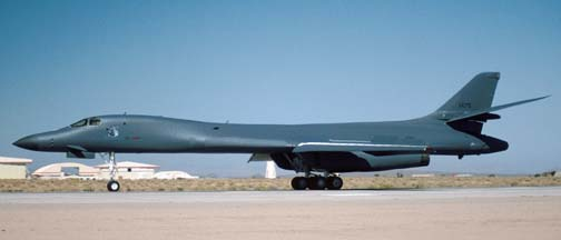 Boeing-Rockwell B-1B Lancer, 95-0075 of the 412th Test Wing