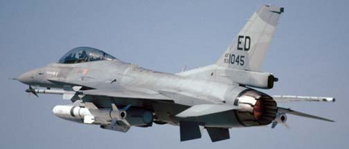 General Dynamics F-16C Block50D Fighting Falcon, 83-1045 of the 412TW