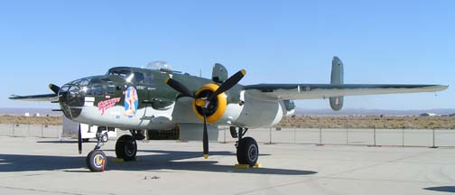 North American B-25J Mitchell, N30801 Executive Sweet of the Southern California Wing of the CAF