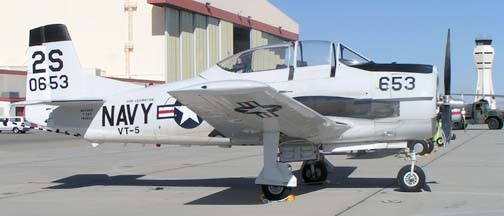 North American T-28C Trojan, N653DB