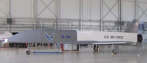 X-34 Reusable Rocket