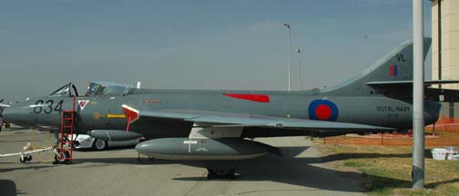 Hawker Hunter GA11, N301XF