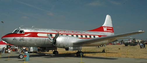 Convair 240, N8408H The 49'er