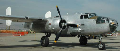 North American B-25J Mitchell, N3675G Photo Fanny